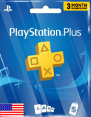 PlayStation Plus 3 Months Membership (US)